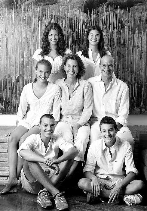 Sportelli's family